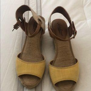 Lucky Brand Kyndra Espadrille Wedge Sandals 7.5